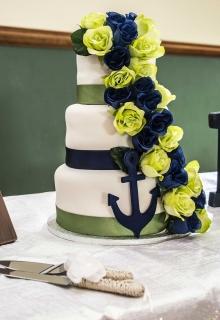 Bruiloft taart