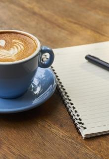 Vergadering koffie